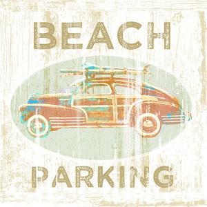 Beach Parking by Jim Baldwin