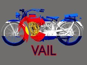 Colorado Motorcycle by Jim Baldwin