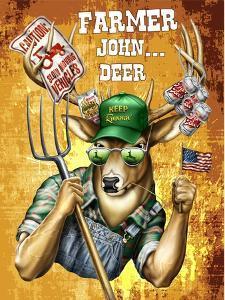 Deer John Deer by Jim Baldwin