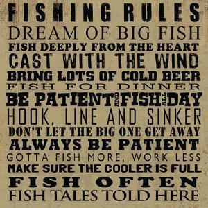 Fishing Rules by Jim Baldwin