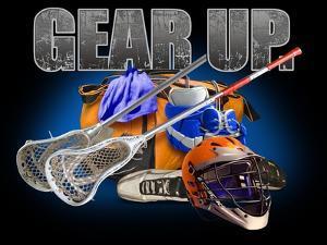Gear Up Lacross by Jim Baldwin