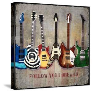 Guitar Line Up by Jim Baldwin