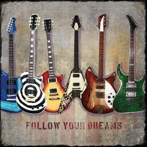 Guitar Lineup by Jim Baldwin