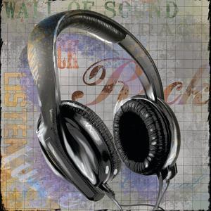 Headphones by Jim Baldwin