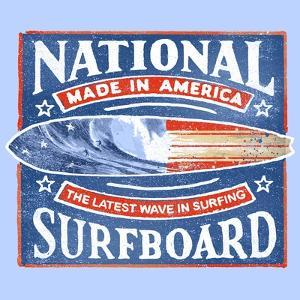 National Surfboard by Jim Baldwin