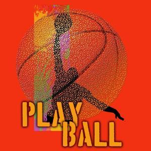Play Ball - Basketball by Jim Baldwin