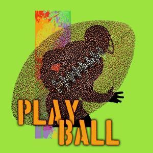 Play Ball - Football by Jim Baldwin
