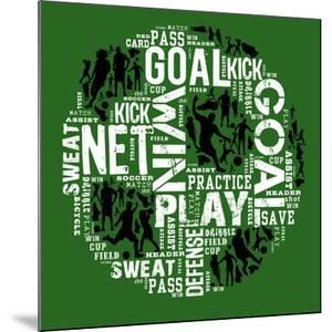 Soccer (Green) by Jim Baldwin