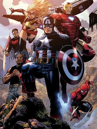 Avengers: The Childrens Crusade No.4: Captain America, Ms. Marvel, Iron Man, Spider-Man and Others