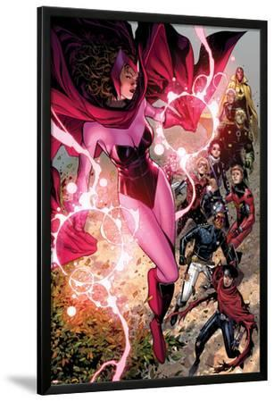 Avengers: The Childrens Crusade No.5: Scarlet Witch, Wiccan, Patriot, Ant-Man, Stature, and Others