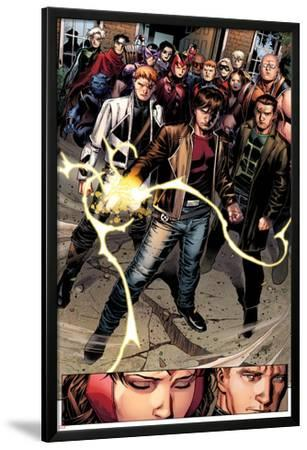 Avengers: The Childrens Crusade No.7: Rictor, Shatterstar, Madrox, Strong Guy, and Scarlet Witch