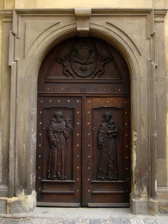 Prague Door V by Jim Christensen