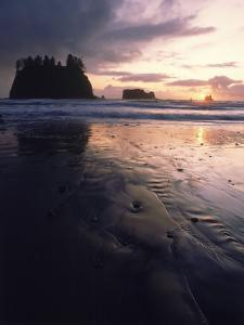 Beach at Sunset, La Push, WA by Jim Corwin