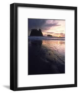 Beach at Sunset, La Push, WA by Jim Corwin