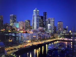 New Marina WAterfront, Seattle, WA by Jim Corwin
