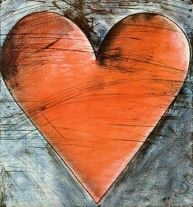 The Philadelphia Heart by Jim Dine