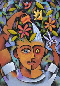 Garden Girl by Jim Dryden