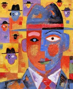 Hat Men by Jim Dryden