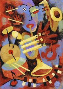 Jazz Player by Jim Dryden