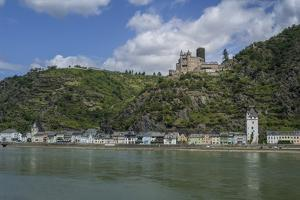 Burg Katz, Katz Castle, St Goarshausen, St Goar, Rhine River, Germany by Jim Engelbrecht