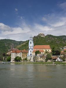 Castle, Danube River, Durnstein, Wachau Valley, Austria by Jim Engelbrecht