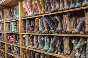 Cowboy Boots, Austin, Texas, Usa by Jim Engelbrecht