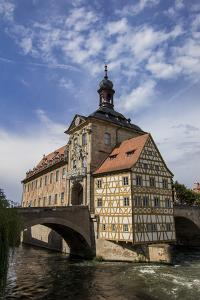 Old Town Hall, Altes Rathaus, Bamberg, Germany by Jim Engelbrecht