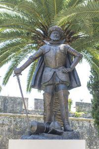 Portugal, Cascais, Statue of the Governor of India by Jim Engelbrecht