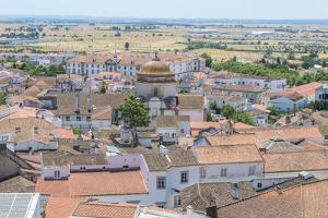 Portugal, Evora, View of Church of Carmen by Jim Engelbrecht