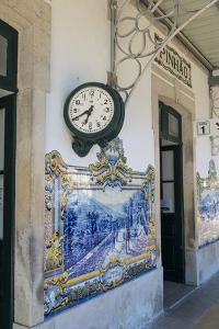 Portugal, Pinhao, Exterior of Train Station by Jim Engelbrecht