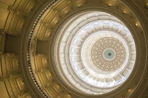 Rotunda, State Capitol Building, Austin, Texas, Usa by Jim Engelbrecht