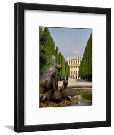 Schonbrunn Palace Sculpture, Vienna, Austria