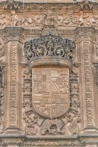 Spain, Salamanca, Detail of Relief Sculpture on Cathedral Exterior by Jim Engelbrecht