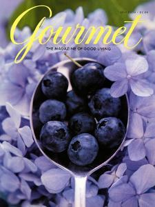 Gourmet Cover - July 2000 by Jim Franco