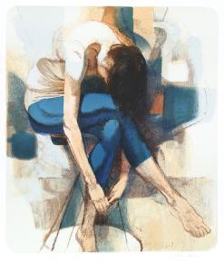 Dancer Resting by Jim Jonson