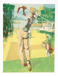 Golf Swing by Jim Jonson