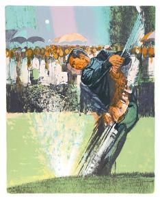 Golf Tournament (Tee Off) by Jim Jonson