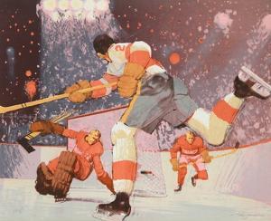 Hockey II by Jim Jonson