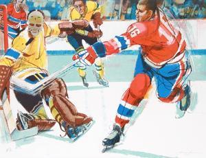 Hockey III by Jim Jonson