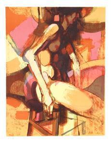 Seated Nude by Jim Jonson