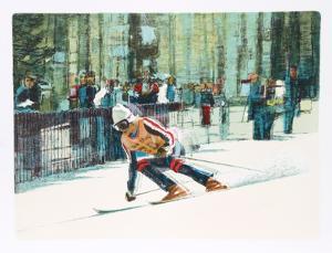 Skier II by Jim Jonson
