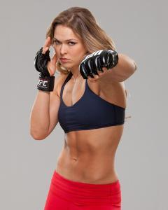 UFC Fighter Portraits: Ronda Rousey by Jim Kemper