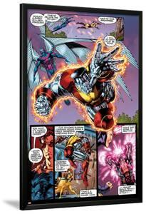 X-Men No.1: 20th Anniversary Edition: Colossus and Archangel Flying by Jim Lee