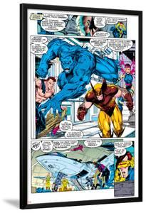 X-Men No.1 Group: Beast, Wolverine and Psylocke by Jim Lee