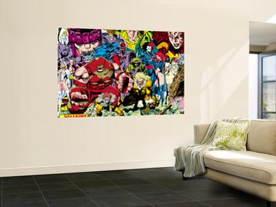X-Men No.1 Pin-up Group: A Villains Gallery