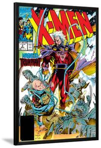 X-Men No.2 Cover: Magneto and Professor X by Jim Lee