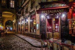 Parisian Cafe, Paris, France, Europe by Jim Nix