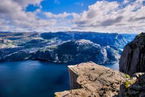 Pulpit Rock, Lysefjord View, Stavanger, Norway, Scandinavia, Europe by Jim Nix