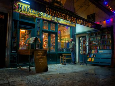 Shakespeare and Company Bookstore, Paris, France, Europe by Jim Nix