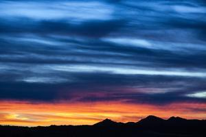 Spectacular Sunset and Stormy Sky by Jim Reed